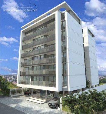 Fachada departamentos arquitectura pinterest - Fachadas edificios modernos ...