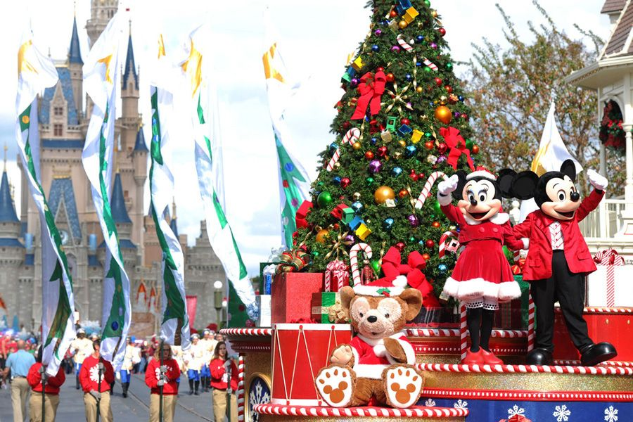 holiday specials being filmed at disney parks - When Was White Christmas Filmed
