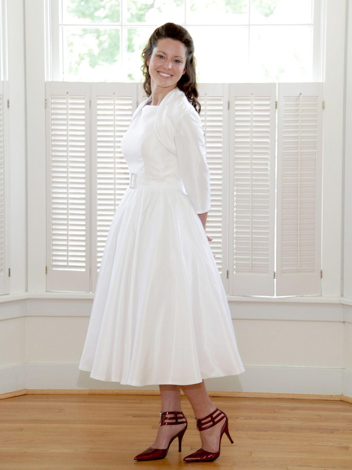 The donna lynn tlength dress tlength vintageinspired