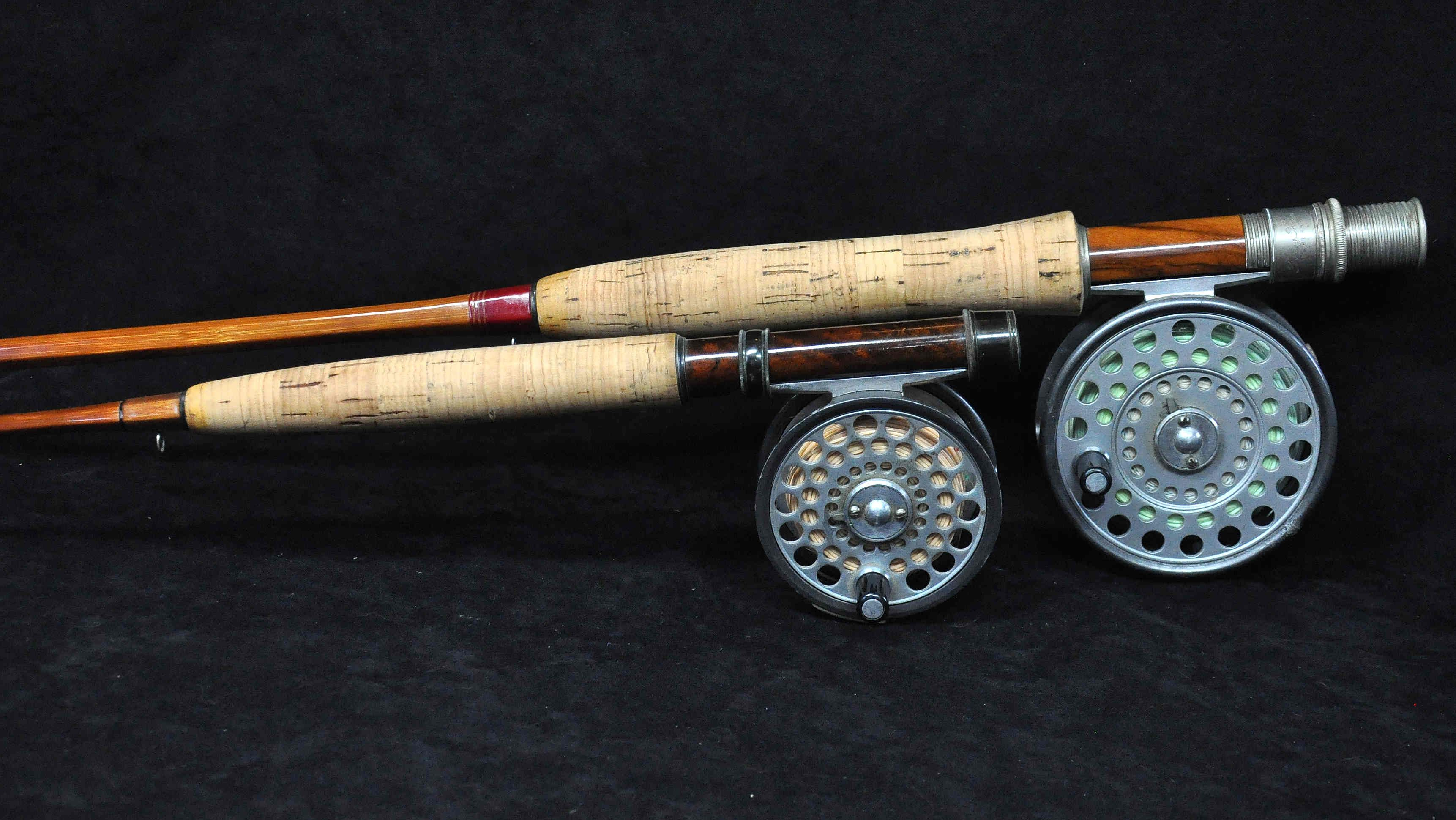 Thomas Thomas Bamboo What Fly Fishing Dreams Are Made Of Lower Rod Is A Caenis 6 1 2 2 5 Oz 3 Wt C 1985 U Bamboo Fly Rod Fly Rods Fly Fishing