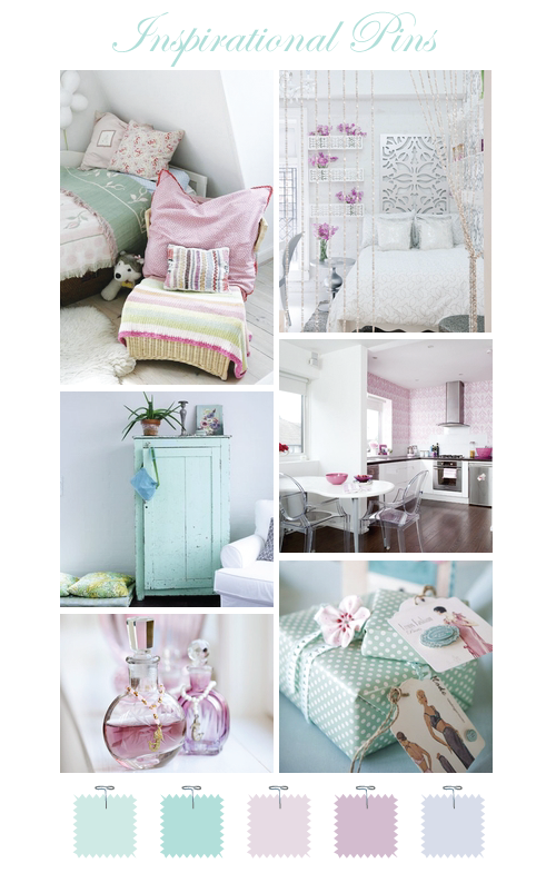 i love lavender & mint together, so pretty! | aqua goes w/everything