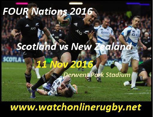 All Blacks Vs Scotland Stream Live Scotland National New Zealand