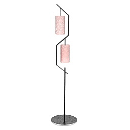 Torchere Roberto Lazzeroni N310111 3d Model Gsm 3ds For Interior 3d Visualization Lamps All Lamp 3d Visualization Floor Lamp