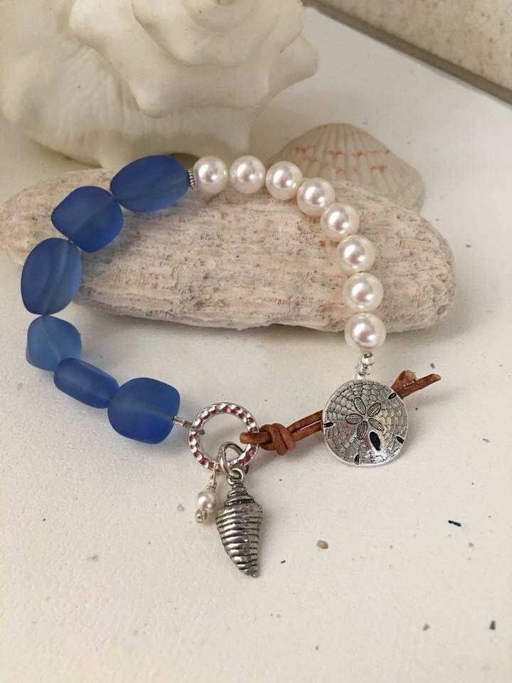 Summer sand dollar (Customer Design) - Lima Beads | Beaded ...
