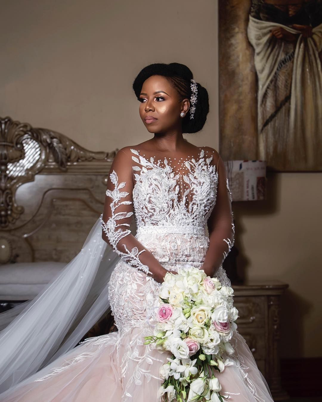 """Wedding Hairstyle Prices: Orapeleng Modutle Style Avenue On Instagram: """"Pearl In A"""