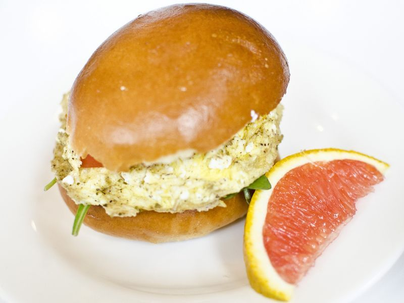 Egg sandwiches from 3 Little figs - Sommerville