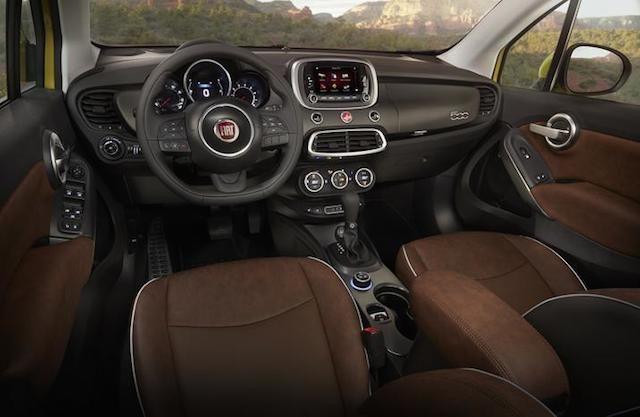 Fiat 500x Auto Trends Fiat 500 Interior New Fiat Fiat 500