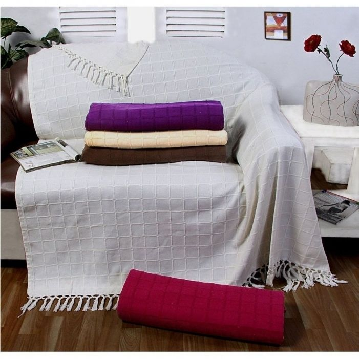 Large Cotton Throws For Sofas