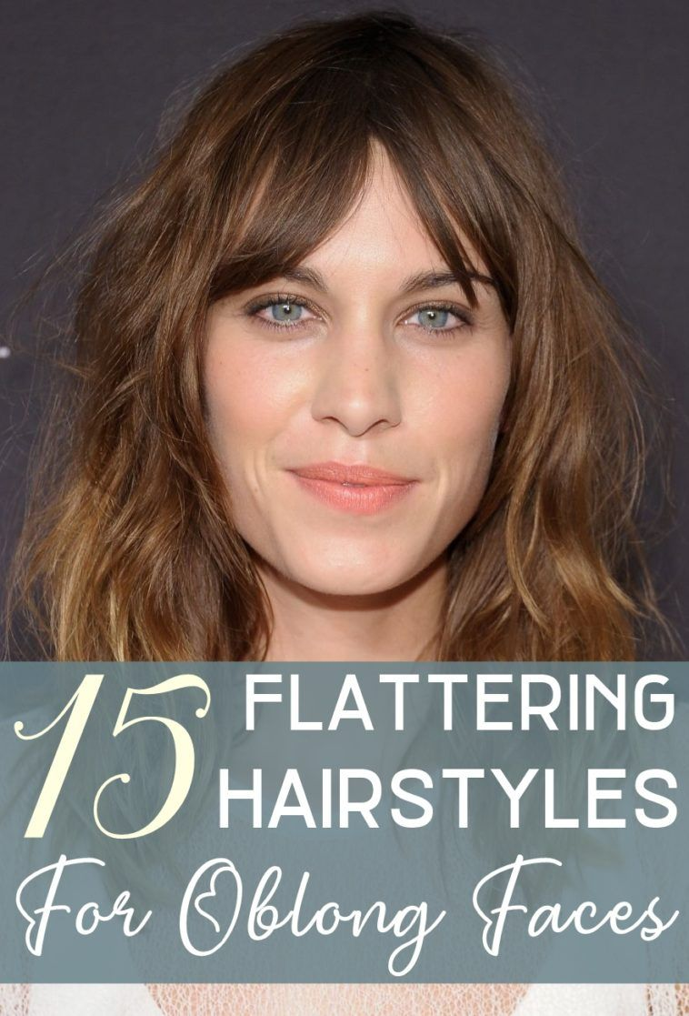 15 Flattering Hairstyles For Oblong Faces With Images Oblong