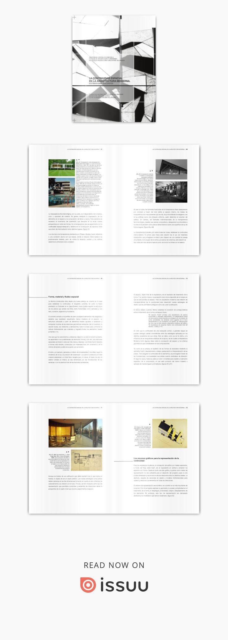 La continuidad espacial en la arquitectura moderna