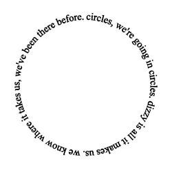 forever in a circle