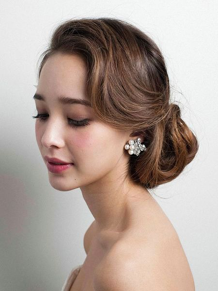 30 schne Hochzeitsfrisuren  Hair and more Hair