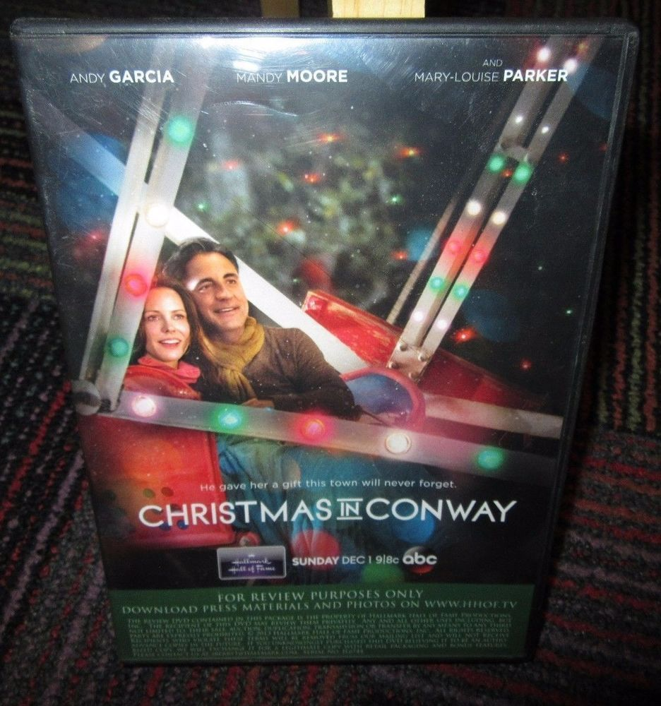christmas in conway hallmark hall of fame dvd great movie euc - Christmas In Conway Hallmark