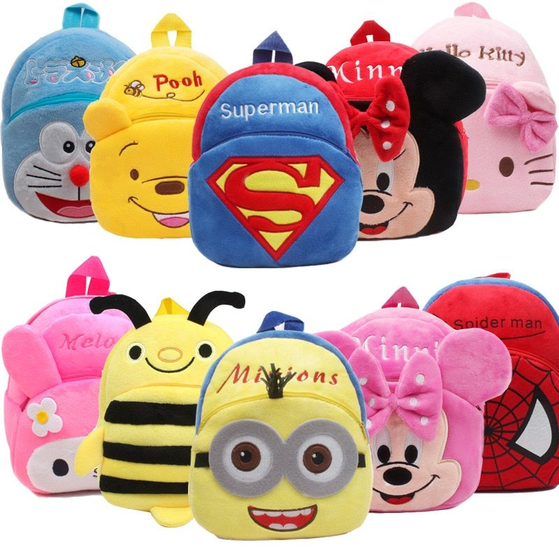 Photo of New Cute Cartoon Kids Plush Backpack Toy Mini School Bag Children's Gifts Kindergarten Boy Girl Baby Student Bags Lovely Mochila – Kid Shop Global – Kids & Baby Shop Online – baby & kids clothing, toys for baby & kid