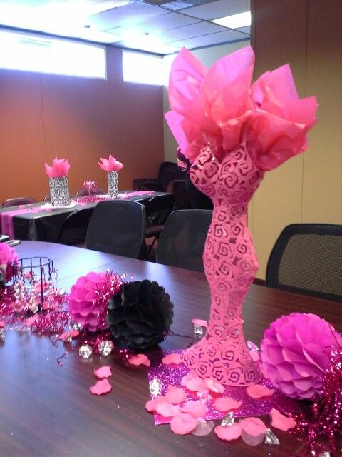 5c5af03306b Pink and bling bridal shower