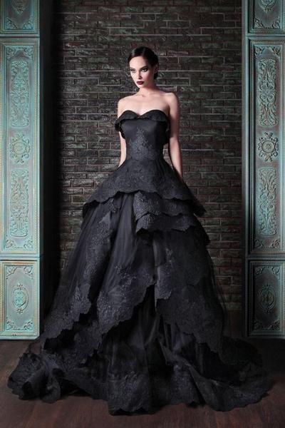 2015 Vestido De Noiva Curto Halloween Victorian A Line Backless ...