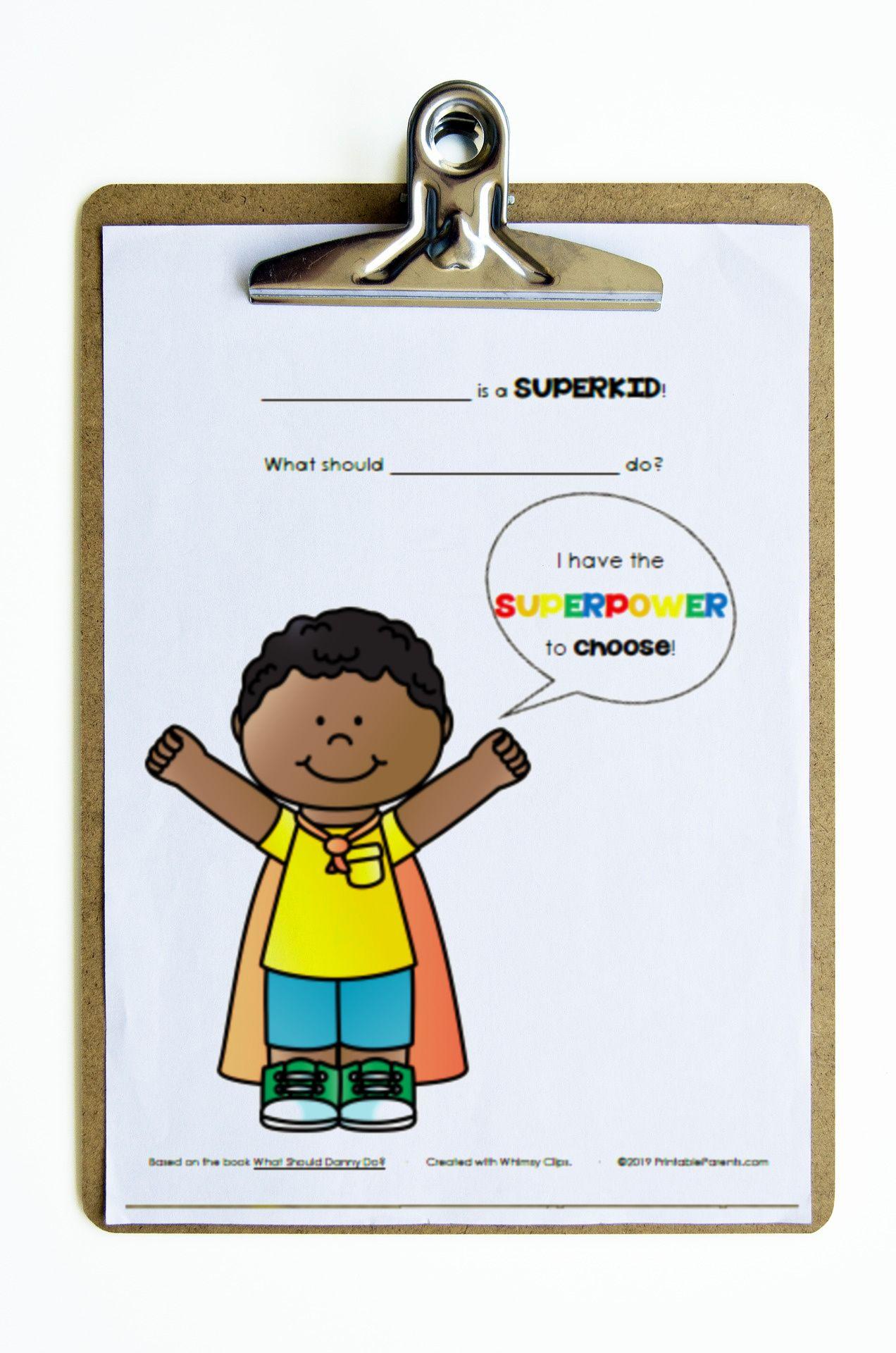 Superkids Printable