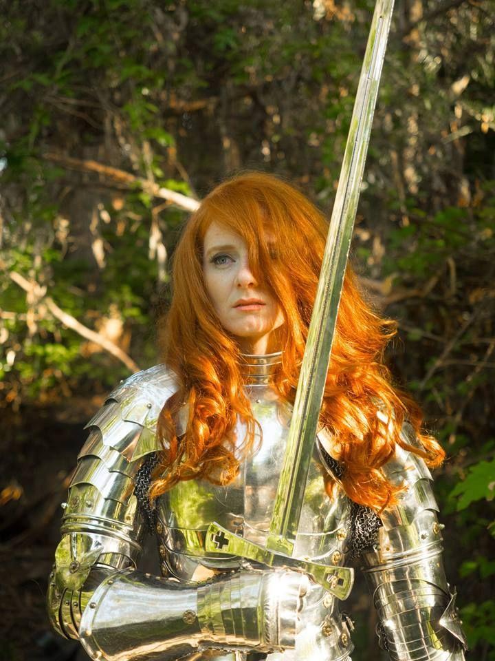 Redhead warrior woman image — pic 4