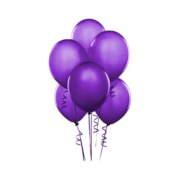1-balloon purple.png ❤ liked on Polyvore featuring balloons, fillers, backgrounds, purple and birthday