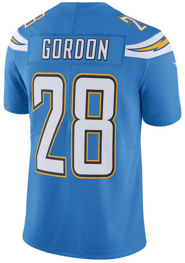 Nike Men s Melvin Gordon Los Angeles Chargers Vapor Untouchable Limited  Jersey 7ae6825a4