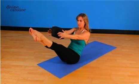 yoga poses for your core  divine caroline  yoga poses