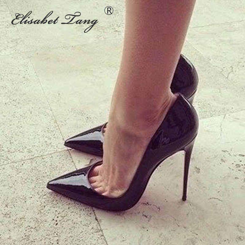 Women In High Heel Pumps