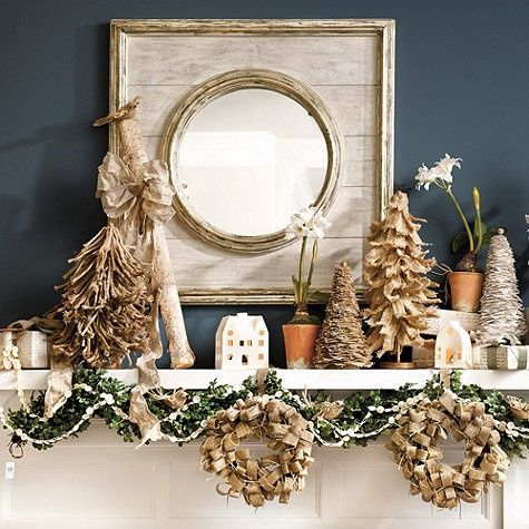 House of She: 10 Merry Mantels