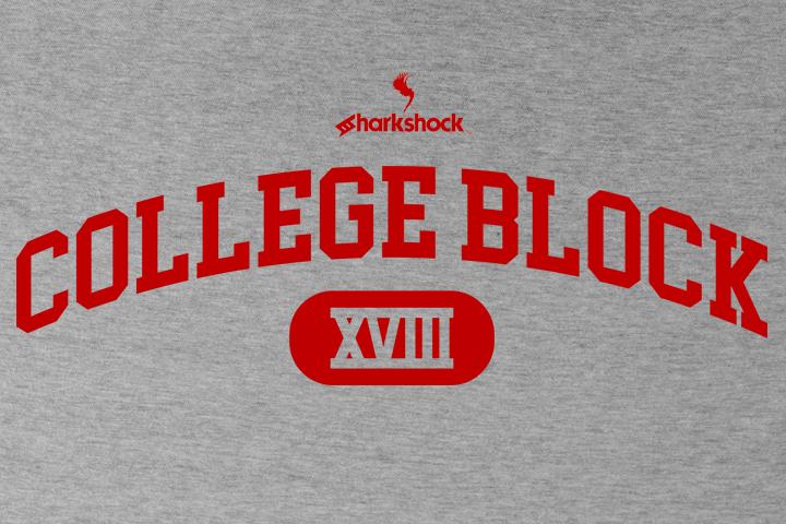 College Block Block fonts, New fonts, College