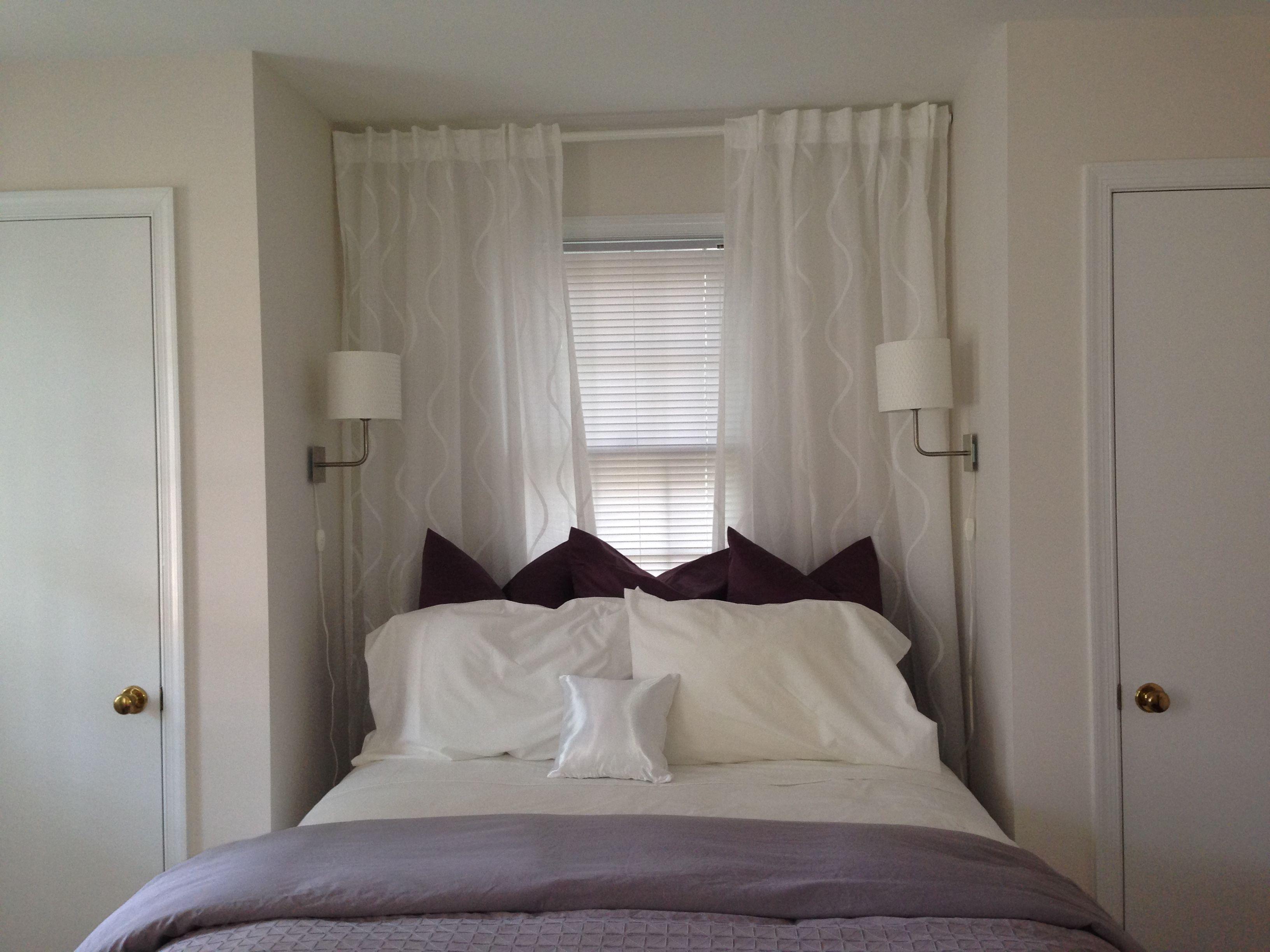 Bedroom With Benjamin Moore Cloudy Gray 2107 70 In Sunlight