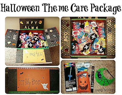 Halloween Care Package Idea #spookybasketideasforboyfriend