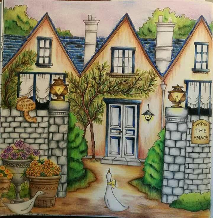 Pin de Denise Bavaria en Coloring Romantic Country | Pinterest ...