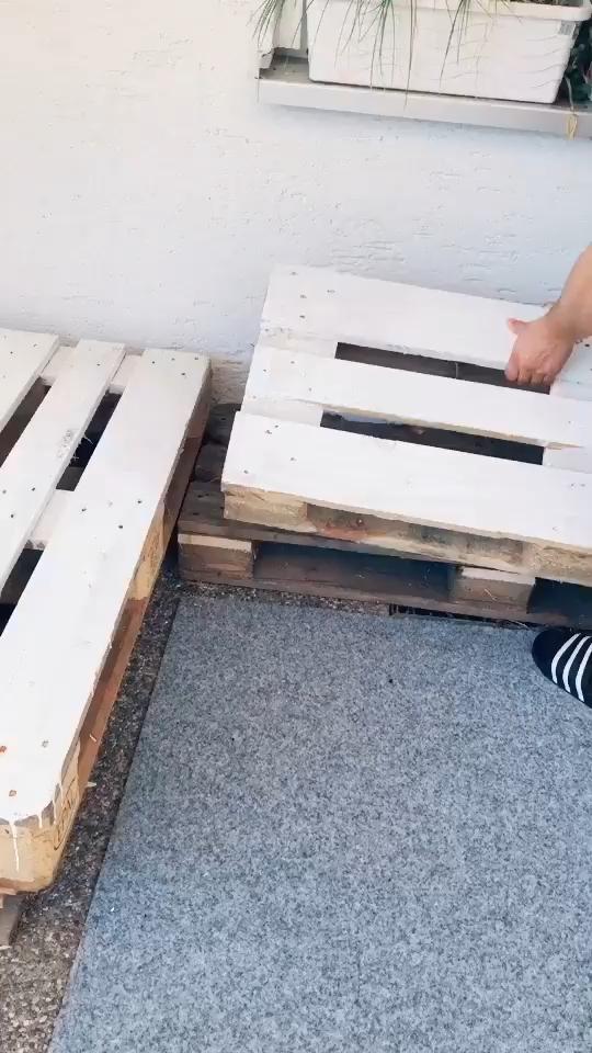 Segredo de como transformar paletes em moveis