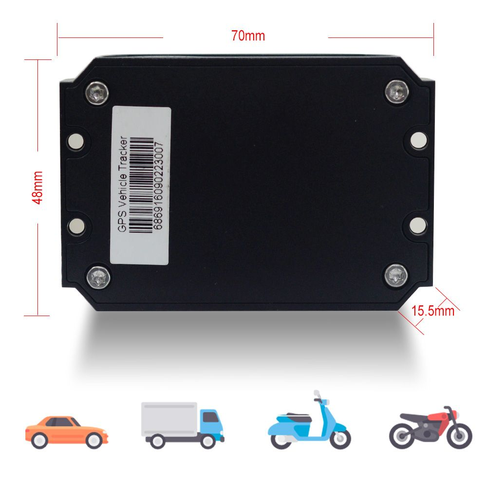 vehicle gps tracker mt200 is widely used in car rental