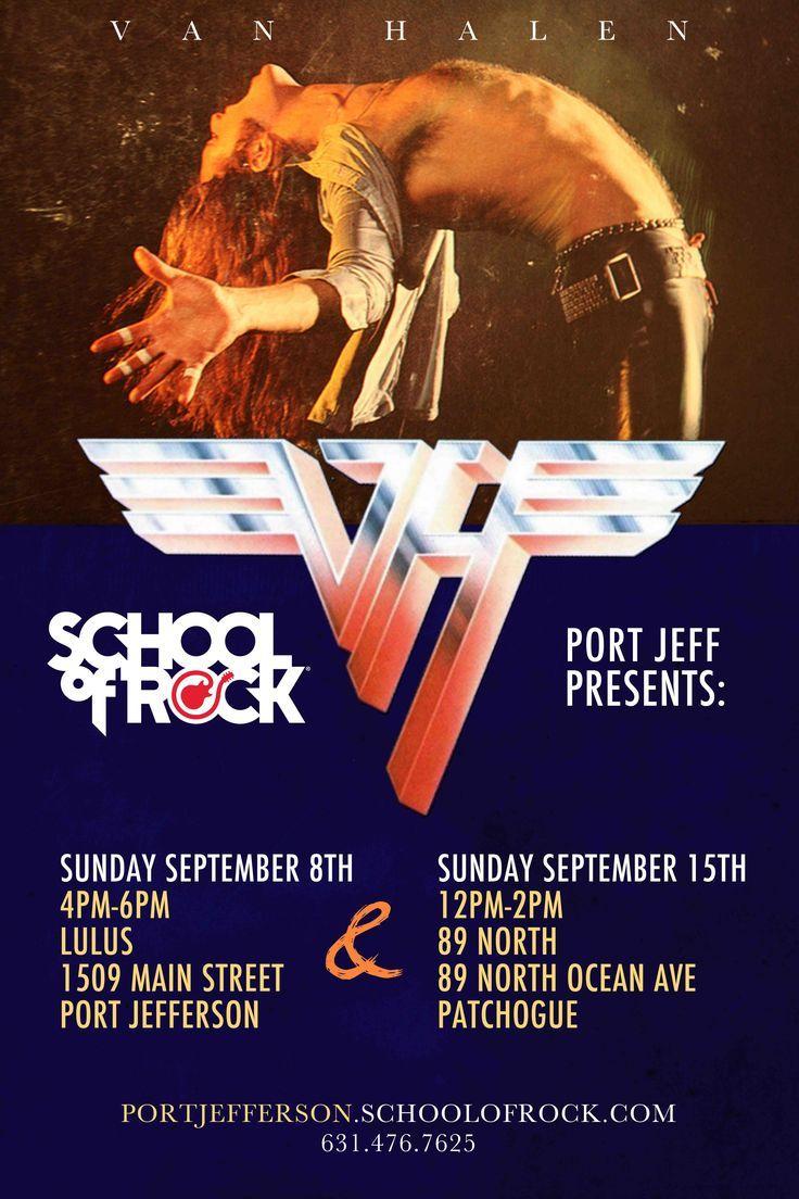 クリックすると新しいウィンドウで開きます Van Halen Van Halen Concert Music Poster