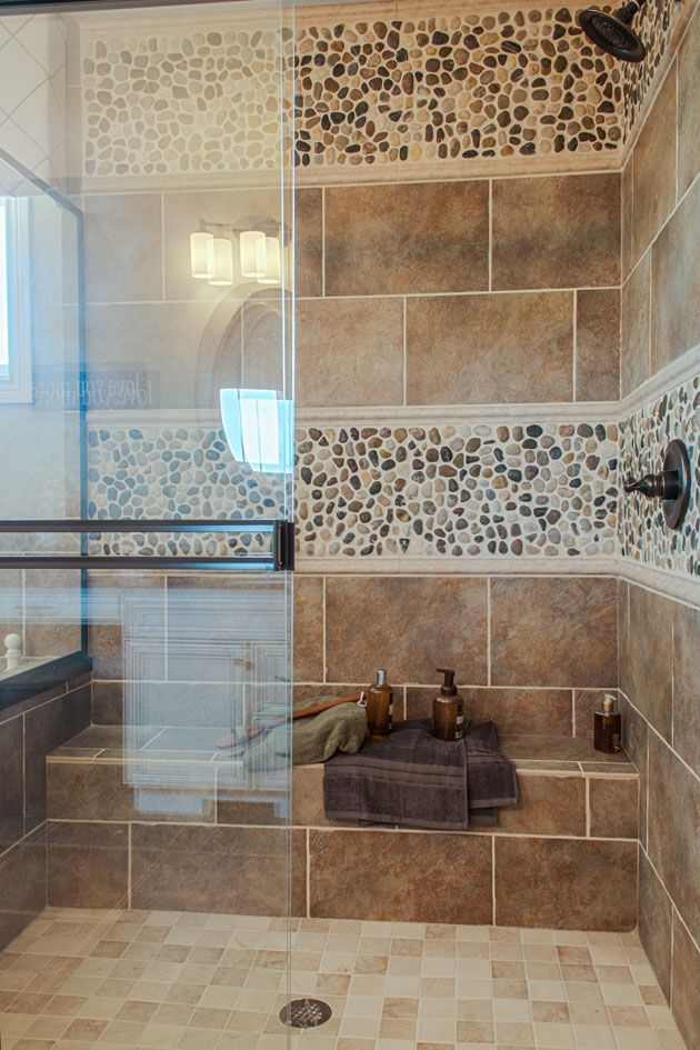 Tile And Stone Shower Walls Home Decor Laundry Room