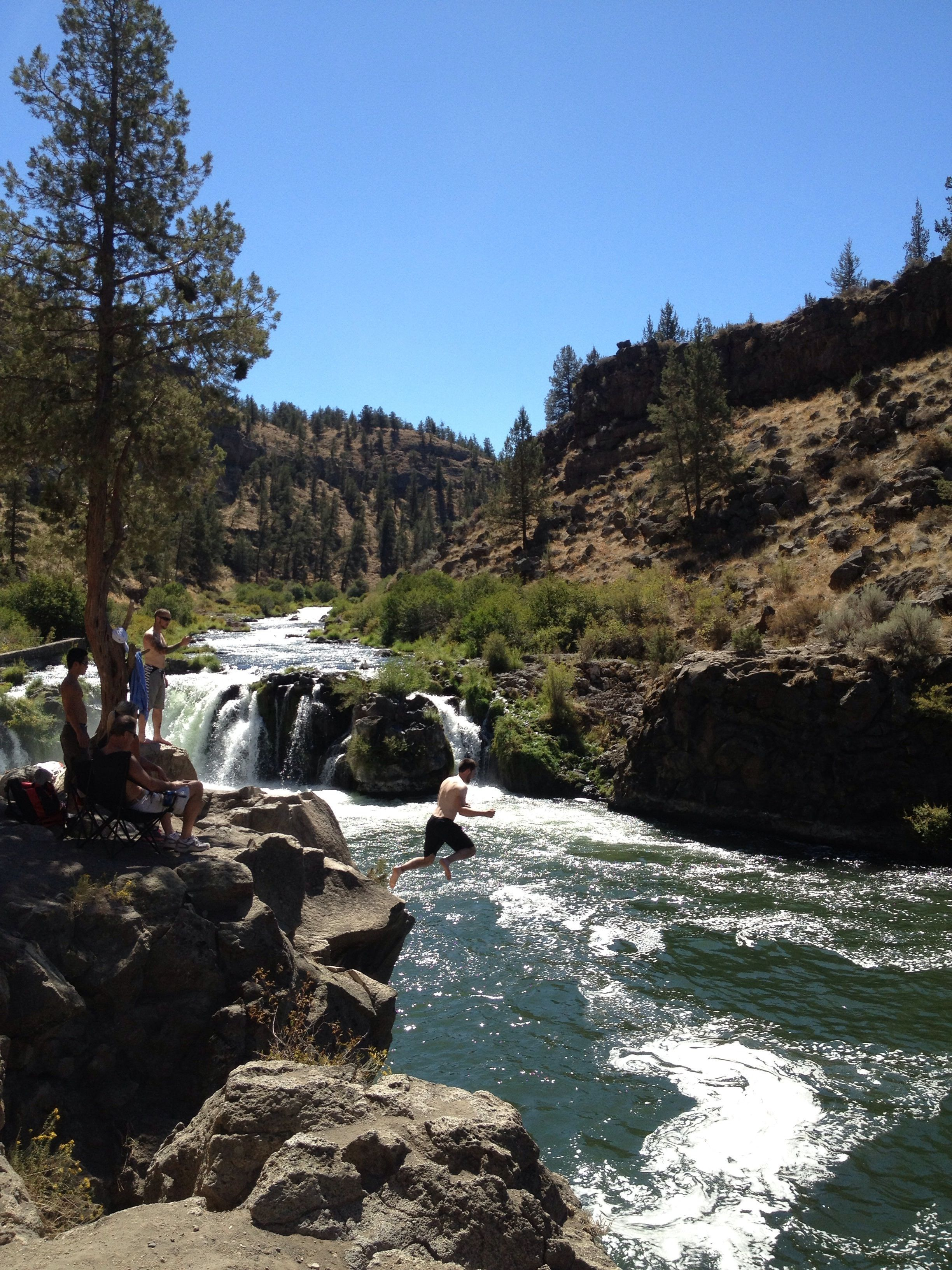 Steelhead Falls - Bend, Oregon