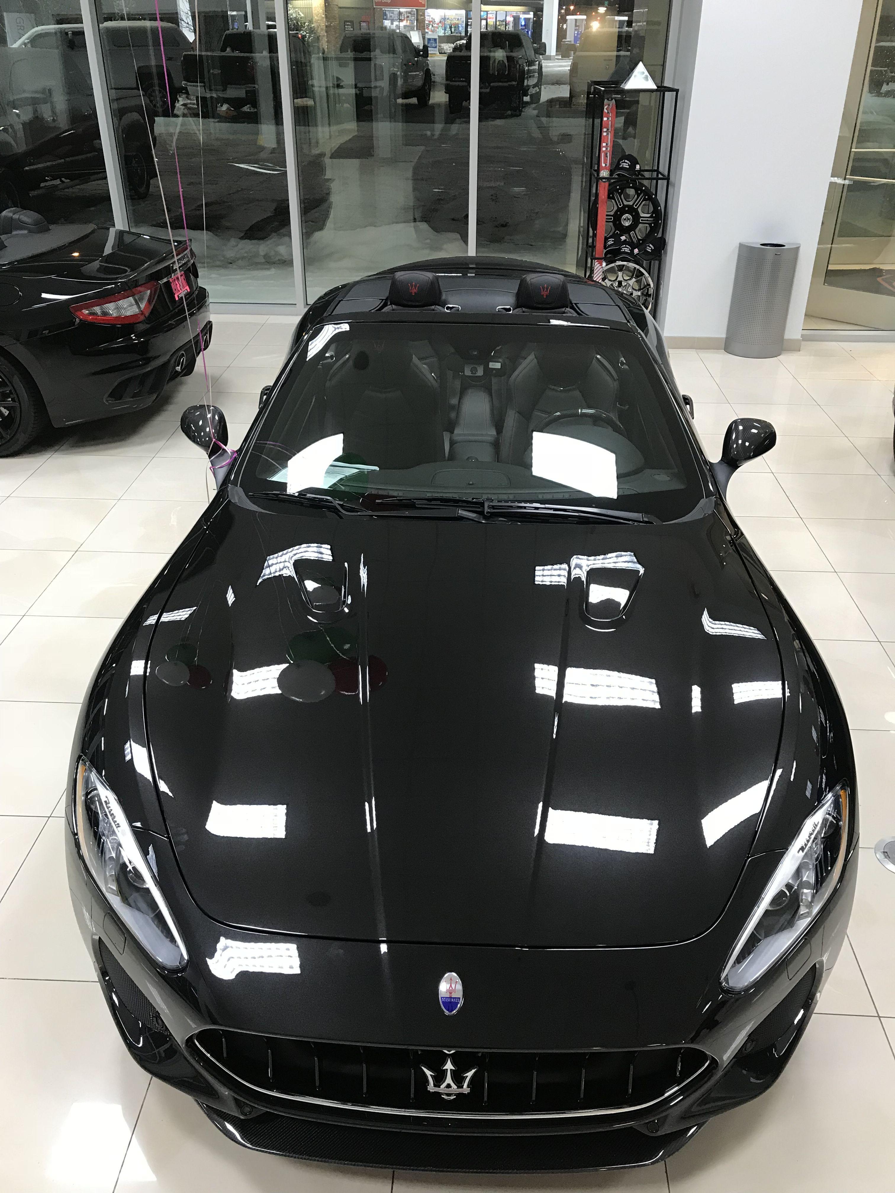 2018 Maserati Granturismo Mc Sportline Skyhook Suspension Full Carbon Fiber Pkg S And The Best Sounding Exhaust W Maserati Granturismo Maserati Gt Maserati