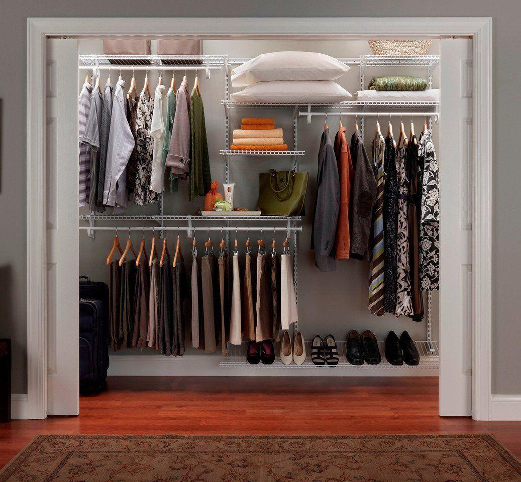 AmazonSmile - ClosetMaid ShelfTrack Closet Organizer, 7 to 10-Feet -