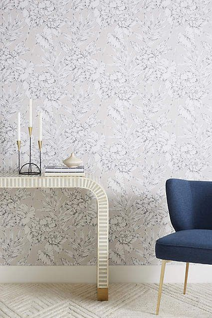 Anthropologie Fiji Garden Wallpaper | Room ideas | Dining