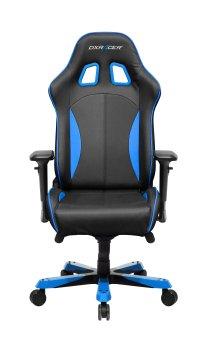 Dxracer Gaming Stuhl Oh Ks57 Nb K Serie Schwarz Blau Stuhle Lendenkissen Schwarz Blau