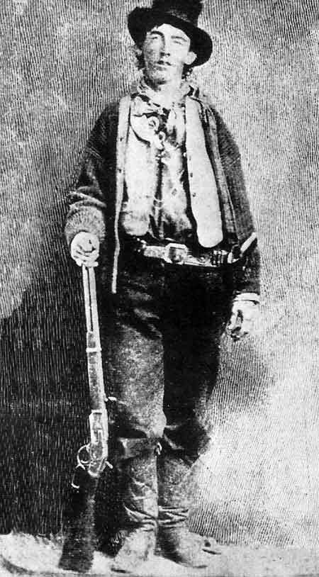 Billy the Kid, born William Henry McCarty Jr  of Arizona in 1859