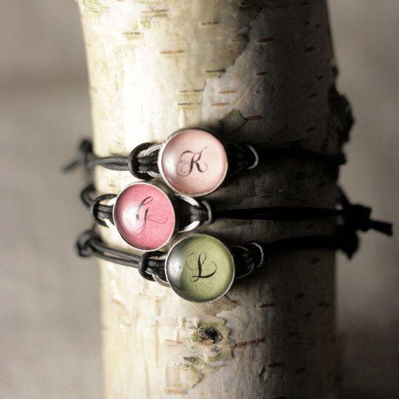 NEW Mom Adjustable Leather Customizable Bracelet  3 by J4JCharms,