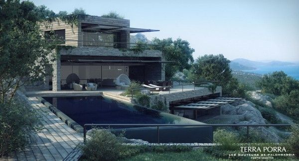 Captivating Corsican Mountain View Villas Visualized
