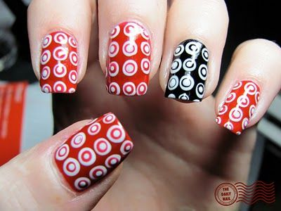 The Daily Nail Right On Target Nails Swag Nails Nails Only