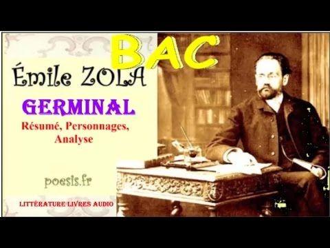 bac germinal d Émile zola résumé analyse livre audio youtube