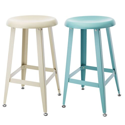 61cm Bar Stool Blue Or Beige Bar Stools Ikea Barstools Stool