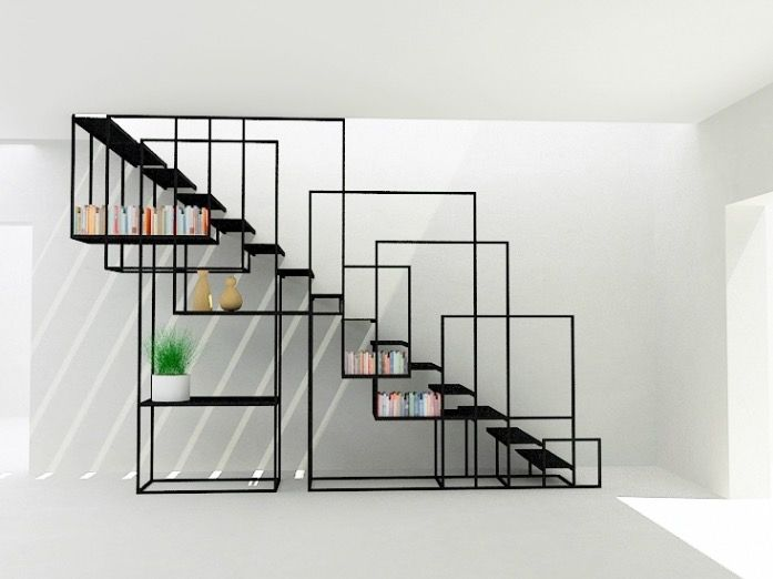 Escalier SQUARE STAIRCASE par Amir Zinaburg | INTR-Decoration ...