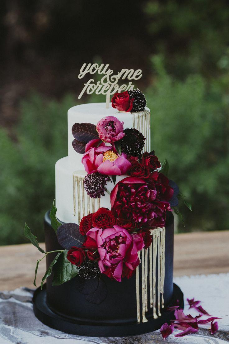 """You + Me Forever"" Cake Topper — Ever Laser"