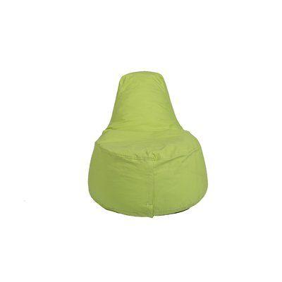 Kids Bean Bag Chair Upholstery: Lime Green   Http://delanico.com