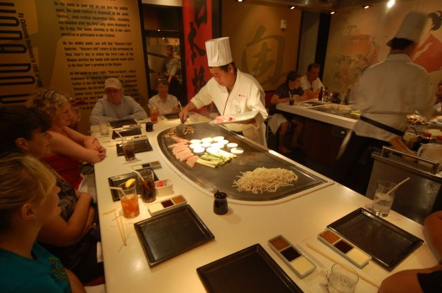 Image result for epcot Teppan Edo